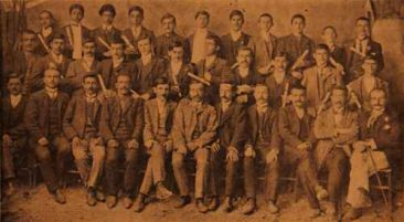 Teachers and Sunday school graduates, Lusaper organization – Sebastia (Sevaz) 1910