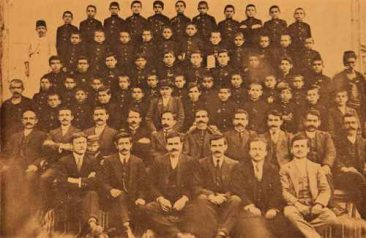 Teachers and pupils, Armenian orphanage – Sebastia 1914
