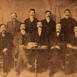 Managing board of the Armenian National Hospital of Sebastia (Sevaz) - 1914