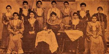 Aramian college of Sebastia (Sevaz) – 1904