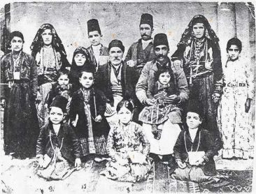 Donabedian family – Malatia 1895