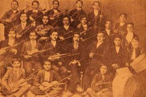 Music group, Aramian college of Sebastia (Sevaz) – 1913