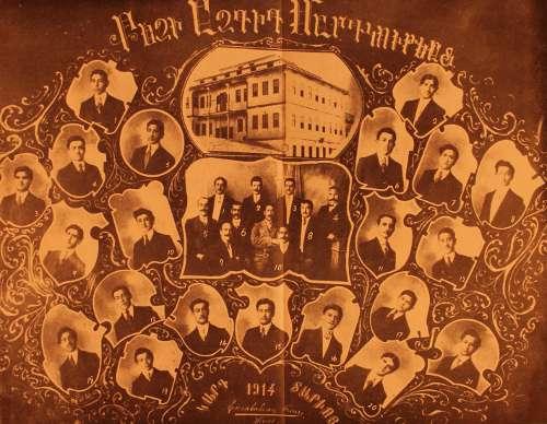 Graduates, Aramian college of Sebastia (Sevaz) – 1914