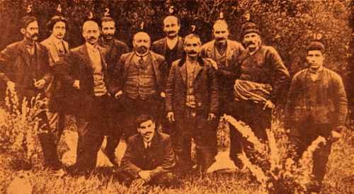 Hnchakian members – Sebastia (Sevaz)