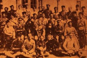 Zoravor Antranig and his officer corps