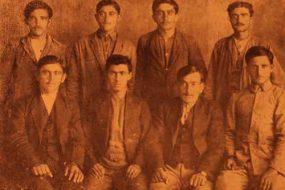 Ayntab fedayeen (partisans) from Sebastia (Sevaz) – 1920