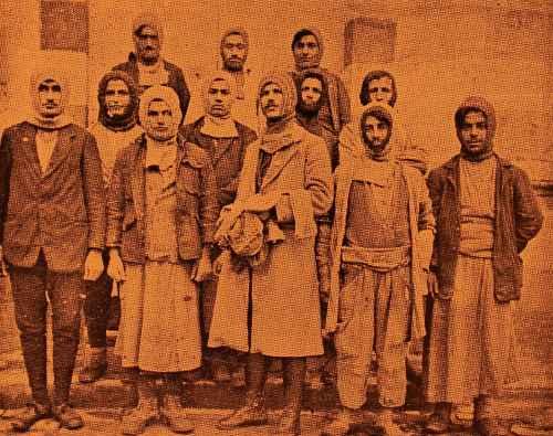 Ayntab fedayee (partisan) from Sebastia (Sevaz)