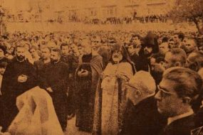 50th anniversary of the Armenian genocide in Aleppo