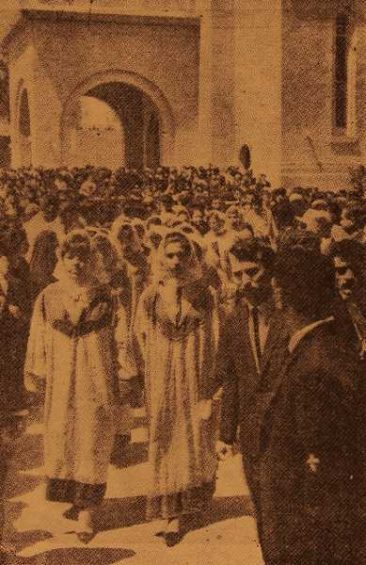 50th anniversary of the Armenian genocide in Baghdad