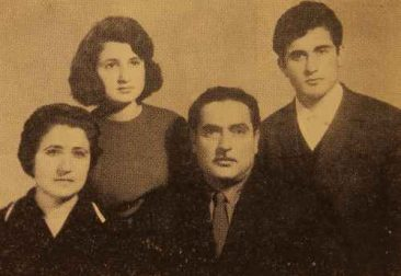 Anjig and Ashod Arayan in Etchmiadzin