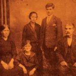 Antranig Balian family in Bulgaria - 1937