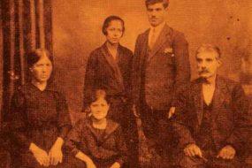 Antranig Balian family in Bulgaria – 1937