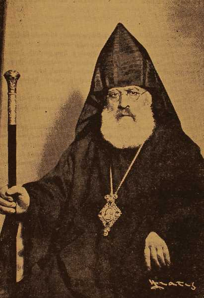 Archbishop Bedros Sarajian, Catholicos of Giligia