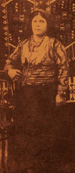 Armenian costume of Sivrihisar
