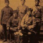 Armenian soldiers during the Balkan War - Edirne 1912
