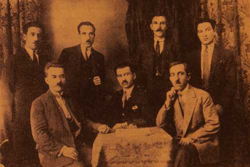 Armenian Union of Sivrihisar in Marseille – 1927