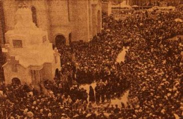 Ceremony at the Memorial of the Martyrs – Antelias