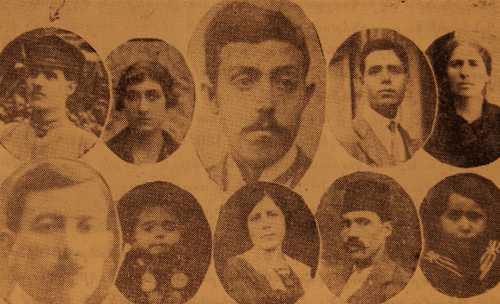 Garabed Binbashian family – Buenos Aires