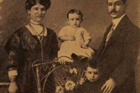 Garabed Hagop Balian and his wife Iskuhi (Djenderedjian)