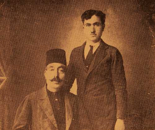 Garabed Kasbarian and his son Yervant – Sivrihisar