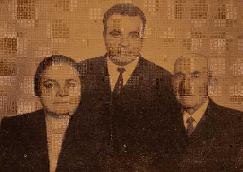 Garabed, Nvart and Krikor Tutundjian – Erevan