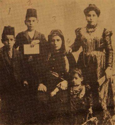 Ghazaros, Hagop, Dirontsa, Denchali, Vartuhi Chetinian – Bolis