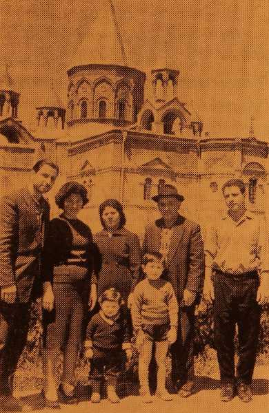 Hagop Kevorkian family – Etchmiadzin