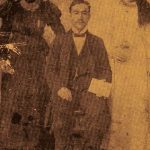 Harutiun Helvadjian and his uncle's daughters - Sivrihisar