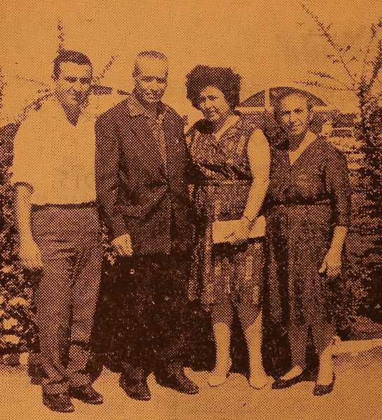 Karekin Kasbarian family and Hovhannes Bidjemeyan – Beirut
