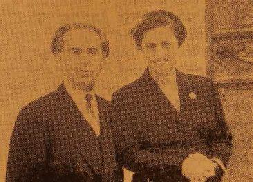 Levon and Takuhi (Karakashian) Kayan – Athens