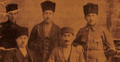 M. and G. Menedjian, V. Gesdenian, A. Andonian, H. Dorsounian