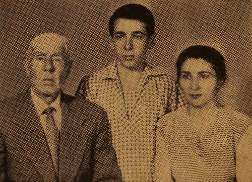 Marta, Hayg and Misak Vartanian – Erevan