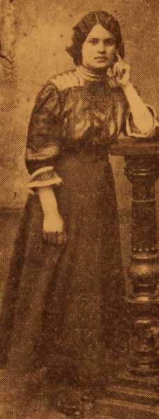 Miss Gadar Baliozian (later Mrs Terzian) – Sivrihisar