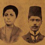 Mr and Mrs (Gayane Der Hovhannesian) Misak Baylozian - Sivrihisar