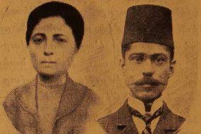 Mr and Mrs (Gayane Der Hovhannesian) Misak Baylozian – Sivrihisar