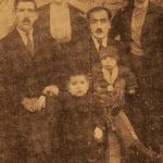 Mr and Mrs Asadur Gebenian, Krikor Kalenderian - Erevan