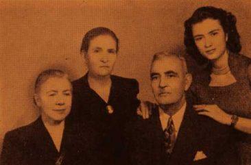Mr and Mrs Baylozian, Mari Bidjimenian and her daughter Satenig