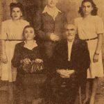 Mr and Mrs Djanig Simonian and their children - Beirut