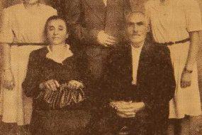 Mr and Mrs Djanig Simonian and their children – Beirut