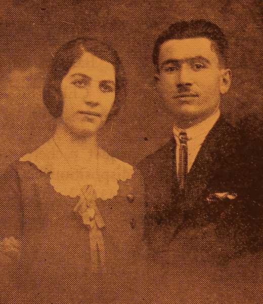 Mr and Mrs Garabed Punardjian - Marseille
