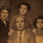 Mr and Mrs Kaprielian, their children Vartanush and Azaduhi - Montreal