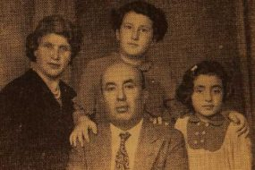 Mr and Mrs Kaprielian, their children Vartanush and Azaduhi – Montreal