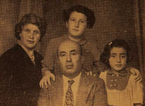 Mr and Mrs Kaprielian, their children Vartanush and Azaduhi – Montreal