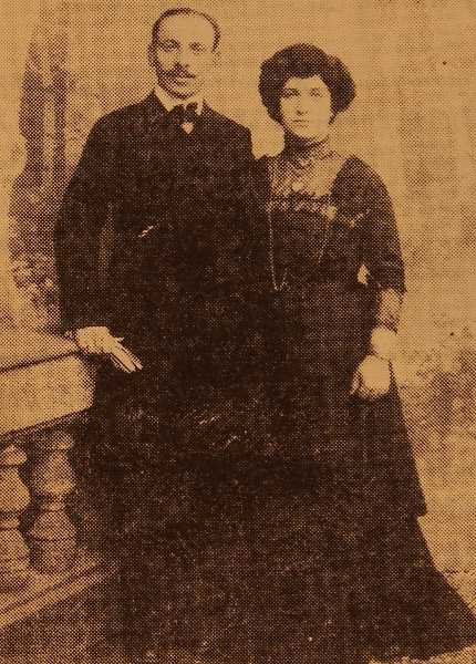 Mr and Mrs Serabion Djenderedjian