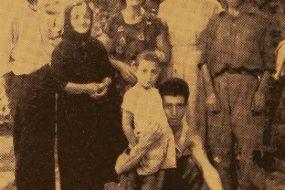 Mrs Kayane Balian with her family – Erevan