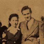 Mrs Parantsem Der Asdvadzadurian and her son Dr Alexander - Venice