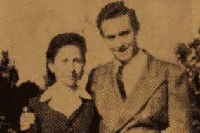 Mrs Parantsem Der Asdvadzadurian and her son Dr Alexander – Venice
