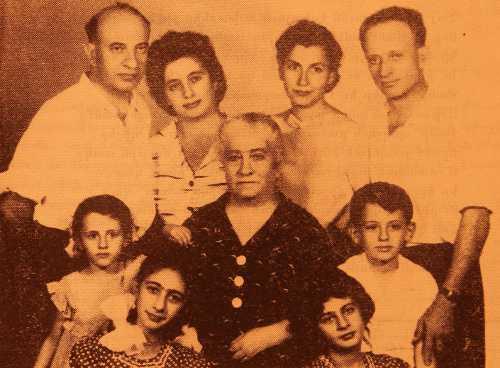 Mushegh and Kevork Djenderedjian with their mother Siranush (Tebeleguian) – Erevan 1962