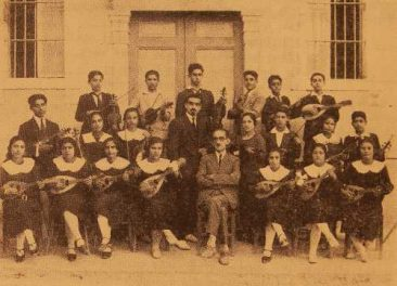 Music group, Surp Nshan mixed College – Beirut