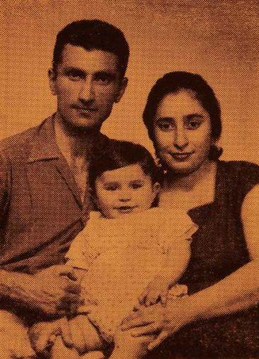 Nubar Sinanian family – Grenoble France
